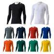 アディダス(adidas) TF BASE ロングスリーブシャツ (aj451) 丸首インナーシャツ FITアンダーシャツ