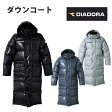 ダウンコート【ディアドラ/DIADORA】ベンチコート ロングコート 防寒ウェア(ad5181)