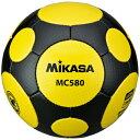 MIKASA ミカサ サッカーボール 検定球5号 MC580-YBK 【取り寄せ品】