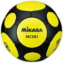 MIKASA ミカサ サッカーボール 検定球5号 MC581-YBK 【取り寄せ品】