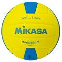 MIKASA ミカサ スマイルドッジボール 2号 SDB2-YBL 【取り寄せ品】