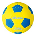 MIKASA ミカサ スマイルサッカーボール 4号 軽量球 約180g SF4-YBL 【取り寄せ品】
