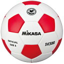 MIKASA ミカサ サッカーボール 検定球5号 貼り SVC5000-WR 【取り寄せ品】