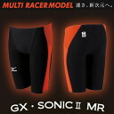 【あす楽対応】 Mizuno ミズノ メンズ 競泳水着 ハーフスパッツ GX・SONIC2 MR N2MB5002
