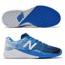 【あす楽対応】 newbalance ニューバランス テニスシューズ メンズ MC906UE3 2E BLUEカラー オムニ/クレーコート用
