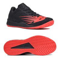 【あす楽対応】 ニューバランス newbalance メンズ テニスシューズ オールコート MCH896R3 2E BLACK/REDカラーの画像