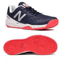 【あす楽対応】 ニューバランス New Balance テニスシューズ オムニクレー メンズ MCO796D1 2E NAVY/REDカラー キャッシュレス・消費者還元事業 5%の画像