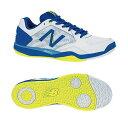 【あす楽対応】 newbalance ニューバランス テニスシューズ メンズ MC100BT1 2E WHITE/BLUEカラー オムニ/クレーコート用