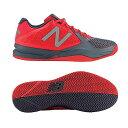 【あす楽対応】 newbalance ニューバランス テニスシューズ メンズ MC996GO2 2E ORANGEカラー オールコート用