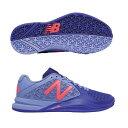 【あす楽対応】 newbalance ニューバランス テニスシューズ レディース WC906SB2 2E BLUE/PINKカラー オムニ/クレーコート用