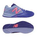 【あす楽対応】 newbalance ニューバランス テニスシューズ オールコート用 WC996SB2 2E BLUE/PINK カラー レディース