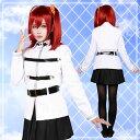 【女子・白制服】Fate/Grand Order FGO カルデア制服風衣装 ハロウィン 仮装 コスプレ ハロウイン