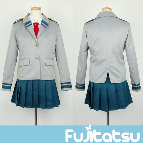 【女子制服!僕のヒーローアカデミア 風】雄英高校 女子制服 ヒロアカ ハロウィン 衣装