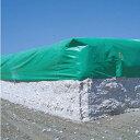 UVシート・グリーン #4000 5.4×7.2m(4枚)・UV(紫外線)カット剤配合・厚み約0.36mmのグリーンシート