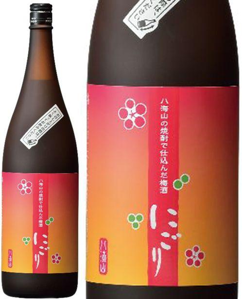 八海山の焼酎で仕込んだ梅酒【にごり梅酒】14度 1800ml