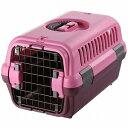 リッチェル キャンピングキャリー S 超小型犬・猫用 ピンク【代引不可】
