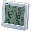 MAG デジタル電波時計 アポロ2号 T-634 シルバーメタリック