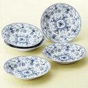 明和窯金陶苑 食器セット トスカーナ カレー皿 5枚セット 210774【代引不可】