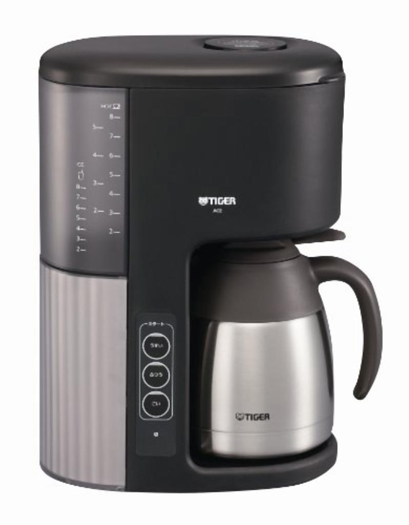 Vacuum Coffee Maker Metal : FUJIX Rakuten Global Market: Tiger vacuum coffee maker with stainless steel Cafe black/ACE-M080KQ