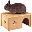 ファープラスト 小動物用 木製ハウス ウッドハウス SIN4646 84646099【代引不可】