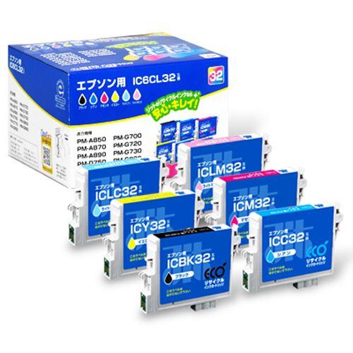 【送料無料】(まとめ)ジット JITインク IC6CL32対応 JIT-E326P 00072798 〔まとめ買い×3セット〕 〔まとめ買い×3セット〕