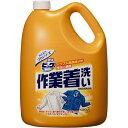(まとめ)花王 液体ビック 作業着洗い4.5kg エキタイビック サギョウギアライ 00008000 〔まとめ買い4本セット〕