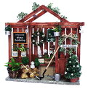ビリー 手作りドールハウスキット クリスマスキット クリスマスガーデンハウス 8430