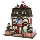 ビリー 手作りドールハウスキット ウッディハウスコレクション クリスマスハウス 8818【北海道・沖縄・離島配送不可】