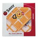 〔ギフト〕Sassy(ライセンス) ミニタオル/オレンジ/箱入り NZSA5456【代引不可】