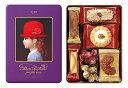 〔ギフト〕赤い帽子 パープルボックス 缶 100g【代引不可】