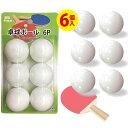 卓球ボール 6P 425-03 〔まとめ買い12個セット〕【代引不可】