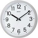 (まとめ買い)DAILY 掛け時計 フラットフェイスDN 文字見やすいシンプルタイプ 4KGA06DN19 〔3個セット〕【北海道・沖縄・離島配送不可】