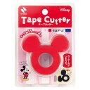 (まとめ買い)ニチバン セロテープカッター ミッキーマウス 赤 CTD-15RD 〔5個セット〕