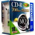 マクセル CD-R700MBゴールド 〔10枚入〕 CDR700S.1P10S 00050624【10P27May16】