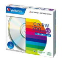 【メール便発送】三菱化学メディア PC DATA用 CD-RW SW80EU5V1 00003510【代引不可】