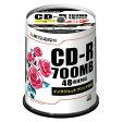 三菱化学メディア CD-R PC/DATA用 SR80PP100 00011893【10P27May16】