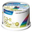 三菱化学メディア PC DATA用 CD-R SR80FP50V2 00011895【10P27May16】