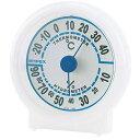 EMPEX 温度・湿度計 シュクレ温度・湿度計 クリアホワイト TM-5521【代引不可】