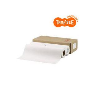 【送料無料】TANOSEE PPC・LEDプロッタ用普通紙ロール A0(841mm×150m) テープ止め 1箱(2本)【】 大判プリンター専用紙 LEDプロッター用紙 普通紙