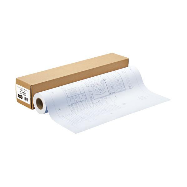 【送料無料】(まとめ) TANOSEE インクジェット用コート紙 HG3マット 44インチロール 1118mm×45m 1本 〔×2セット〕【】 大判プリンター専用紙 インクジェットプリンター用紙 コート(マット)紙