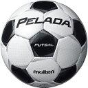モルテン(Molten) フットサルボール4号球 ペレーダフットサル シャンパンシルバー×メタリックブラック F9P4001 【代引不可】