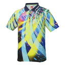 ニッタク(Nittaku) 卓球アパレル SPINADO SHIRT(スピネードシャツ) ゲームシャツ(男女兼用) NW2176 ネイビー O 【代引不可】