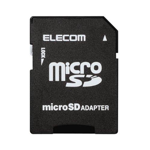 【メール便発送】エレコム microSDメモリ 変換アダプタ MF-ADSD002【代引不可】