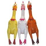 日頃のストレス発散に大活躍!!大声で鳴くニワトリ(shrilling chicken)43cm(イエロー、ホワイト、ブラウン)【あす楽対応】【HLSDU】【楽ギフ包装】