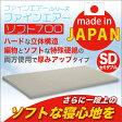 【送料無料】日本製 高反発マットレス ファインエアーソフト700 セミダブルサイズ【代引不可】