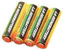 LA・SEINE BATTERY乾電池アルカリ単四4P 〔まとめ買い15個セット〕 7-58-10