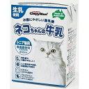 (まとめ買い)キャティーマン ネコちゃんの牛乳 シニア猫用 200ml 〔×24〕【代引不可】