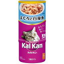 (まとめ買い)カルカン ハンディ缶 KHC02 1歳から まぐろと白身魚 160g×3缶 猫用缶詰 キャットフード 〔×9〕【代引不可】