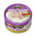 (まとめ買い)ペットライン ごちそうタイム ささみ&鶏なんこつ 80g 犬用缶詰 ドッグフード 〔×48〕【代引不可】