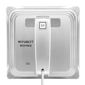 【送料無料】ECOVACS (エコバックス) 窓掃除ロボット ガラスクリーナー WINBOT 8シリーズ シルバー W830 ロボット掃除機【代引不可】